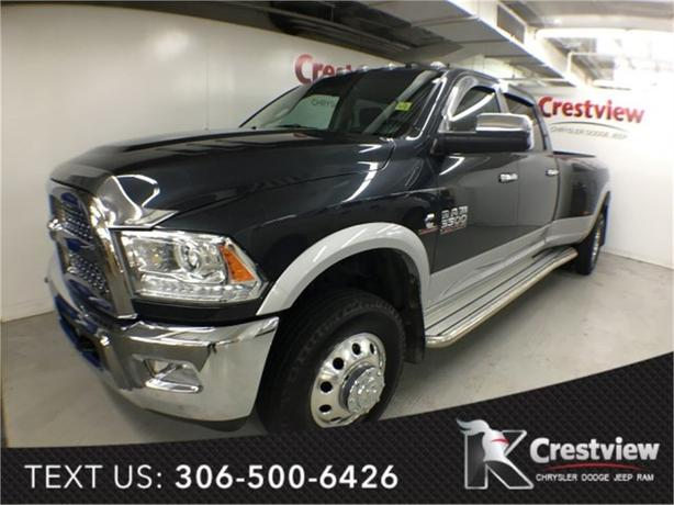 2014 Ram 3500 Laramie Crew Cab | DRW | Leather | Sunroof | Navigation