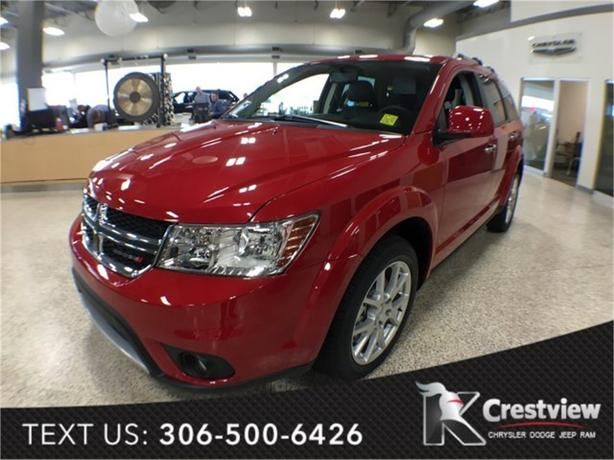 2016 Dodge Journey R/T V6 AWD | Sunroof | Navigation | DVD