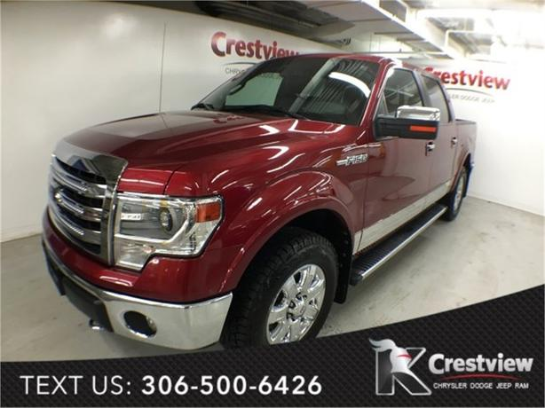 2014 Ford F-150 Lariat SuperCrew   Leather   Sunroof   Navigation