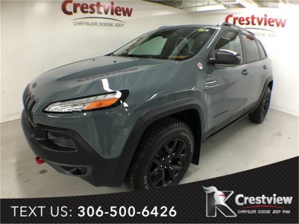 2015 Jeep Cherokee Trailhawk 4x4 w/ Leather, Navigation