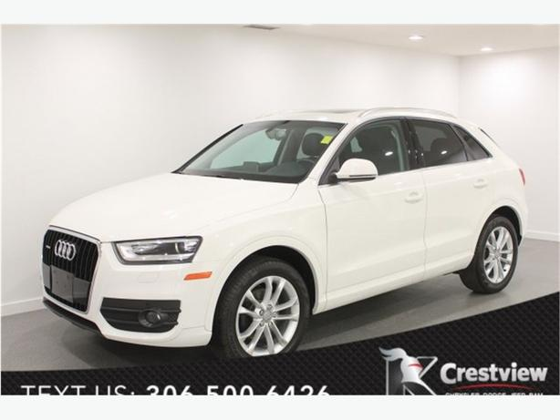 2015 Audi Q3 Technik | Leather | Sunroof | Navigation