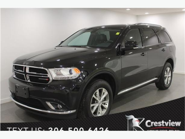 2015 Dodge Durango Limited V6 AWD | Leather | Navigation | DVD