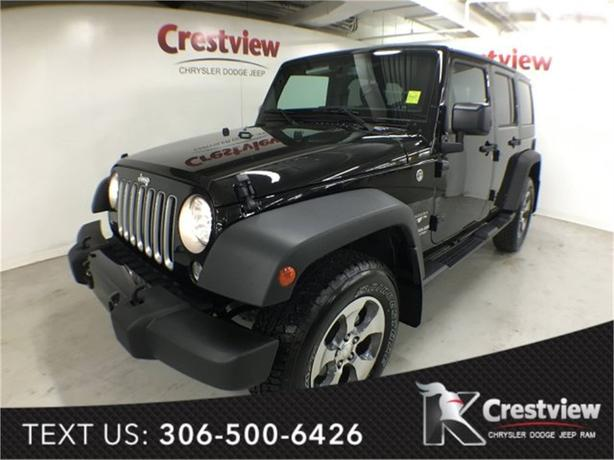 2016 Jeep Wrangler Unlimited Sahara w/ Leather, Navigation