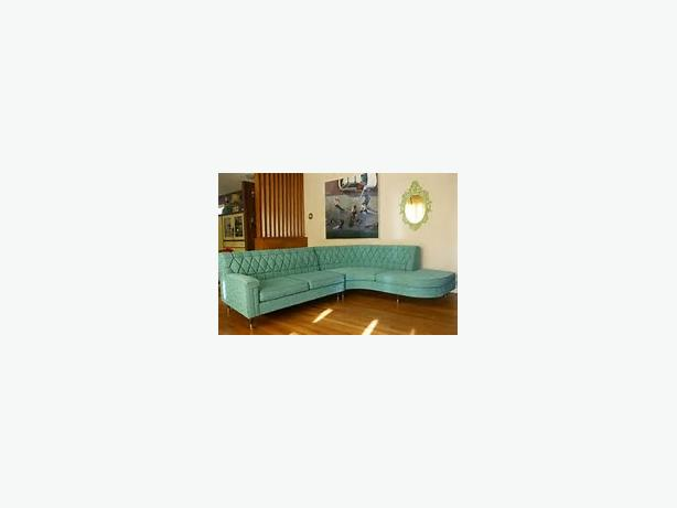 WANTED: Vintage Sectional / Couch Armachair Sofa Set
