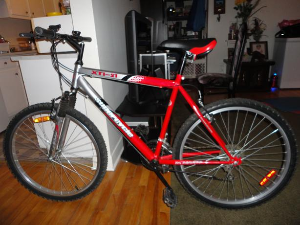 Great 21 Speed Mountain Bike  With Front Suspension Like New!