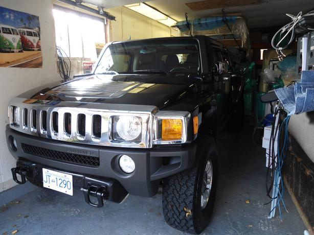 Hummer pickup H3T Alpha