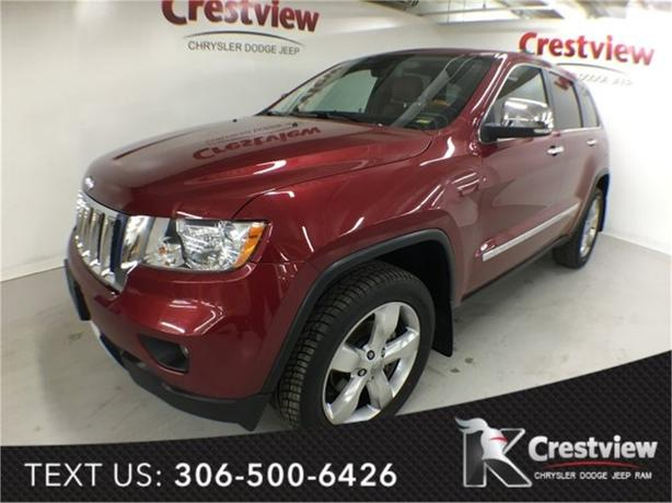 2012 Jeep Grand Cherokee Overland V6 | Leather | Sunroof | Navigation