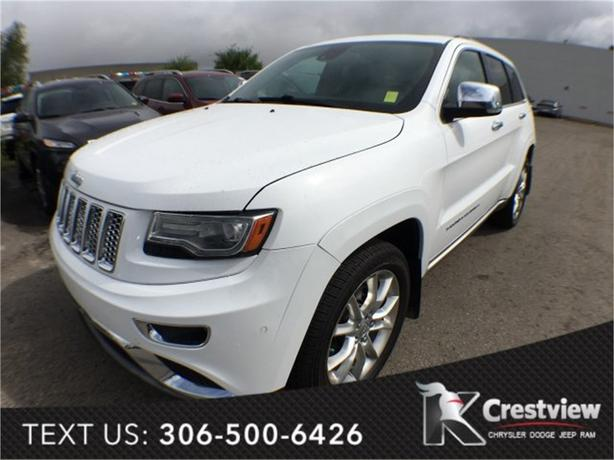 2014 Jeep Grand Cherokee Summit EcoDiesel w/ Leather, Sunroof, Navigation