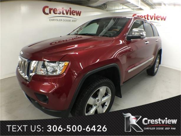 2013 Jeep Grand Cherokee Overland V6 | Sunroof | Navigation | DVD