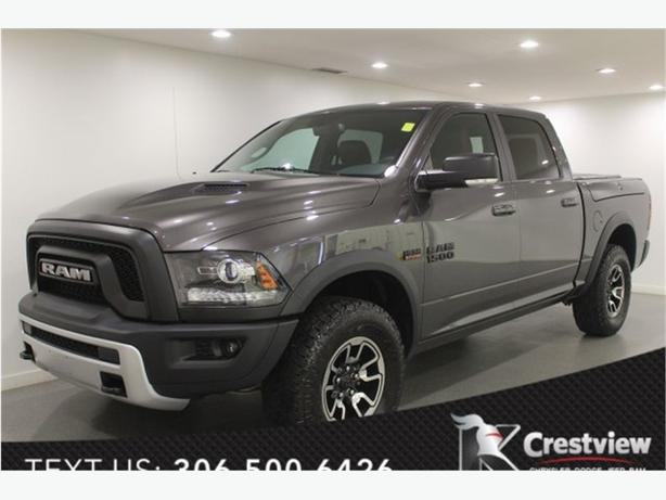 2016 Ram 1500 Rebel Crew Cab w/ Leather, Sunroof, Navigation