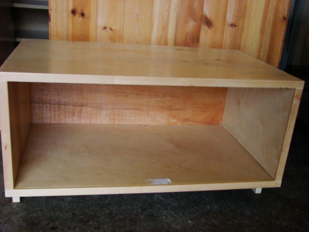 Custom Made Maple Shelves