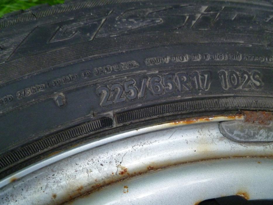 Winter tires with rims 225 65r17 102s nepean ottawa for 102 hamilton terrace london