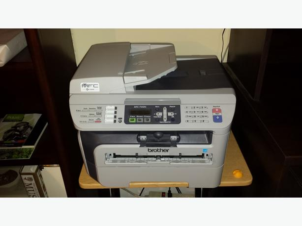 Laser printer Brother MFC-7440N in perfect condition