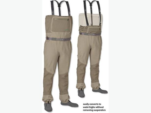 Orvis Silversonic Convertible Top Waders