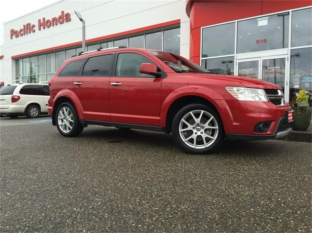 2015 Dodge Journey ZERO (0) ICBC CLAIMS LOCAL SUV W/ NAVIGATION