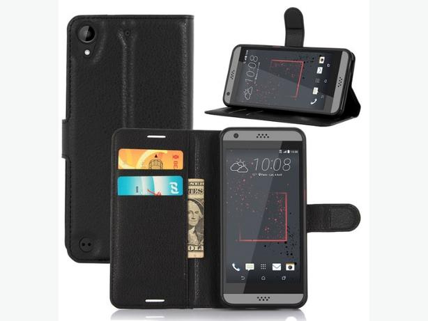 Folio Magnetic Wallet Flip Stand Case for HTC Desire 530 630