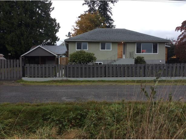 Nicely refurbished family home located in chemainus on southern Vancouver Island