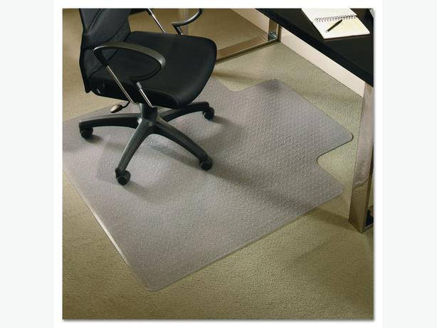 Clear transparent chairmat for rug carpet