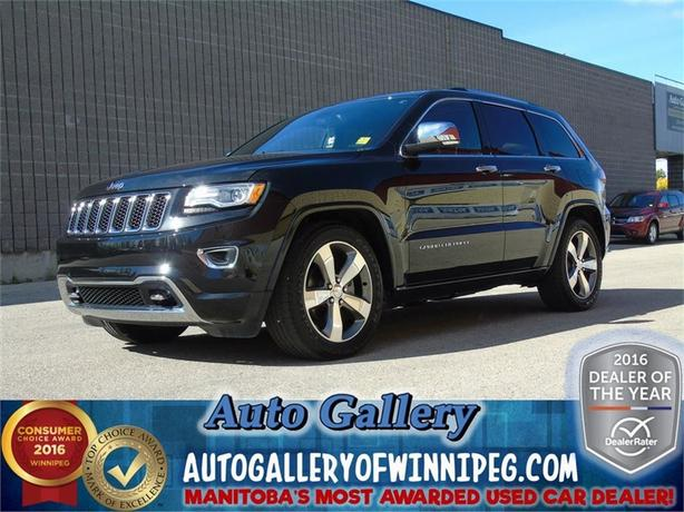 2015 Jeep Grand Cherokee Overland *Best Price in MB