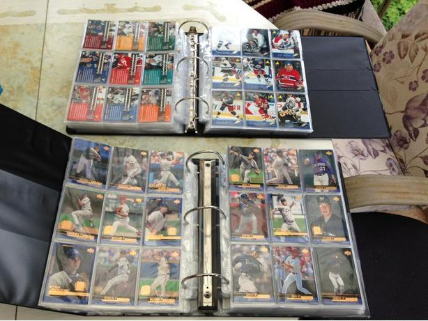 Hockey & Baseball cards