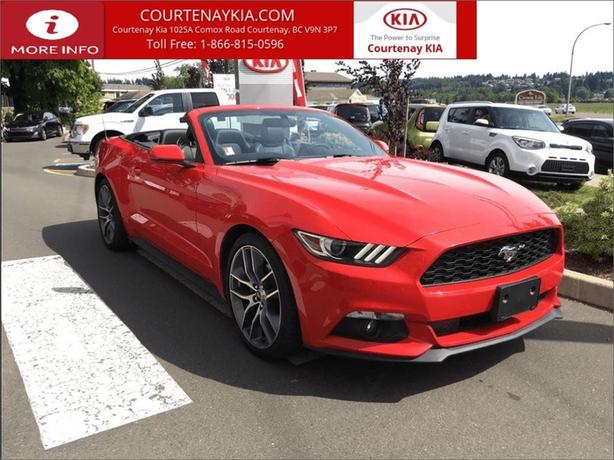 2015 Ford Mustang EcoBoost Premium | Convertible