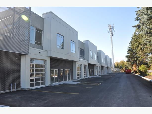 - PSF net for Office/Warehouse space for lease in Kanata. Units from 1500 - 6000