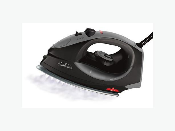 Sunbeam Classic Non-Stick Iron, Black/Grey
