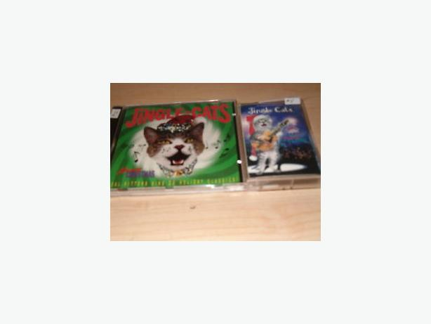 Christmas cat cd meowy Christmas caroles