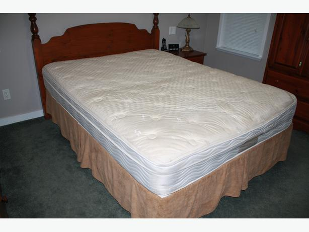 Queen Pillow Top Mattress and Boxspring