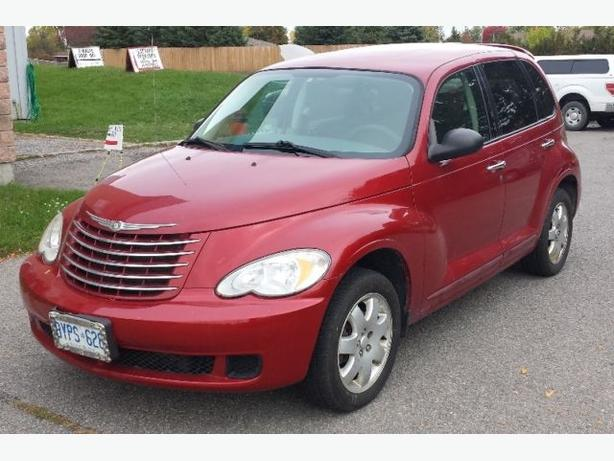 2007 Red Inferno PT Cruiser Winter Ready
