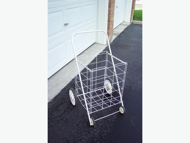 Large 4 Wheel Folding Shopping Cart