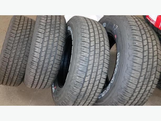 new 265/70R17 wrangler fortitude h/t tires