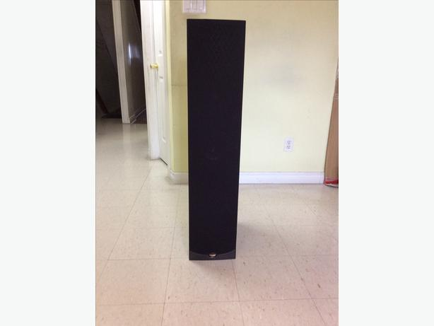 Klipsch Reference 600-Watt Tower Speaker (RF800B) Black(SINGLE)