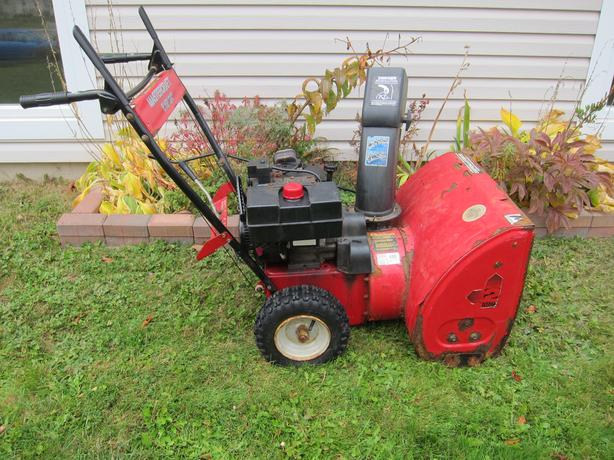 "8 HP Mastercraft 24"" Snowblower FOR SALE"