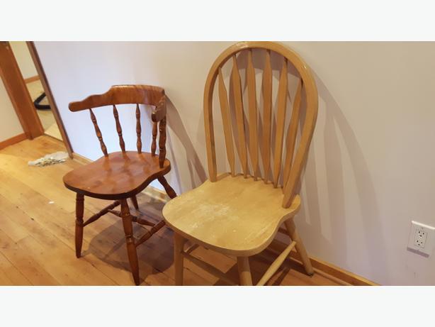 Random chairs & night stand