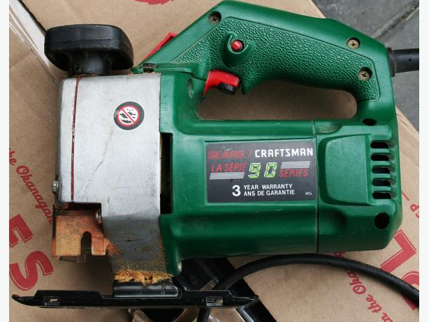 SCROLL JIG SAW HEAVY DUTY CRAFTSMAN EXC CONDITION