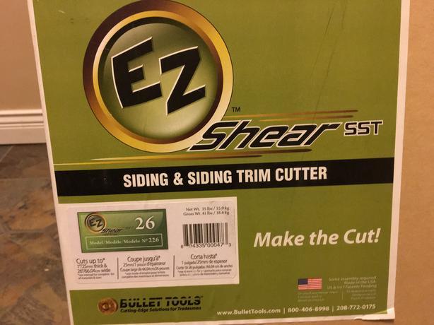 26 inch bullet EZ shear