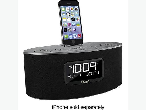 IHOME IDL46GC USB CHARGING CLOCK DOCK