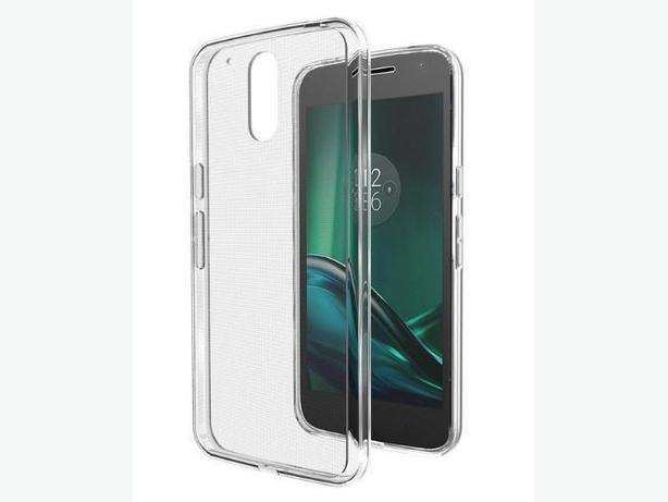 Flexible transparent TPU Case for Motorola Moto G4 Play G Play