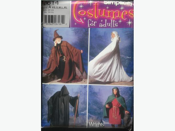 Halloween (or cosplay) Costume Patterns!