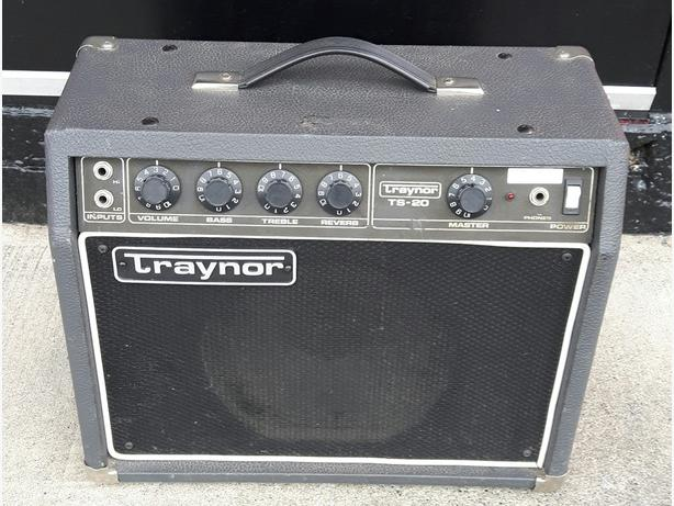 Traynor TS-20 with Eminence Ragin' Cajun Speaker