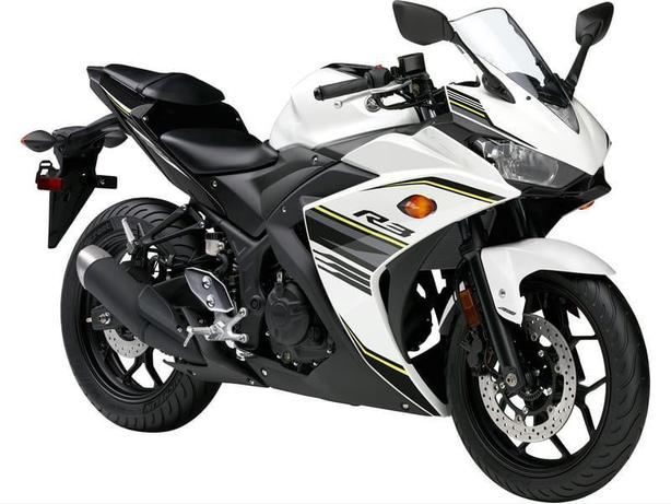 2017 Yamaha YZF-R3 ABS Sport Bike  * BRAND NEW -White *