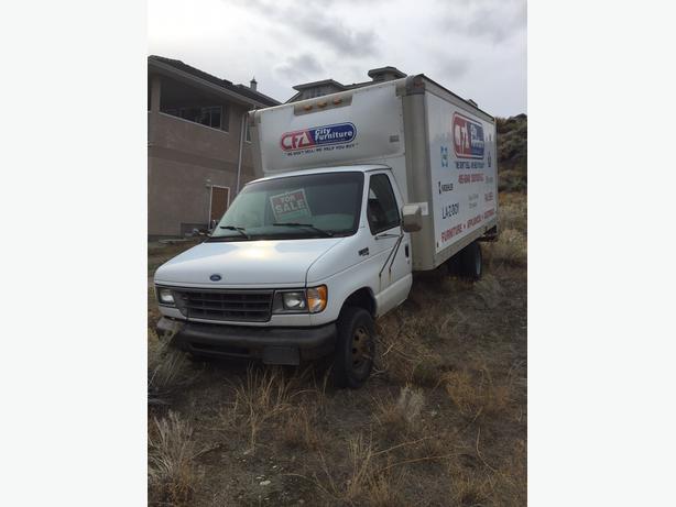 Cube Van with Powerstroke Diesel
