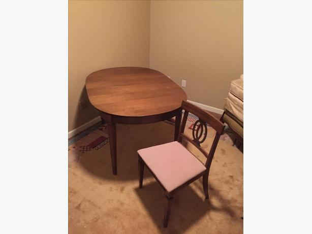 Great Deal on wooden table and chairs