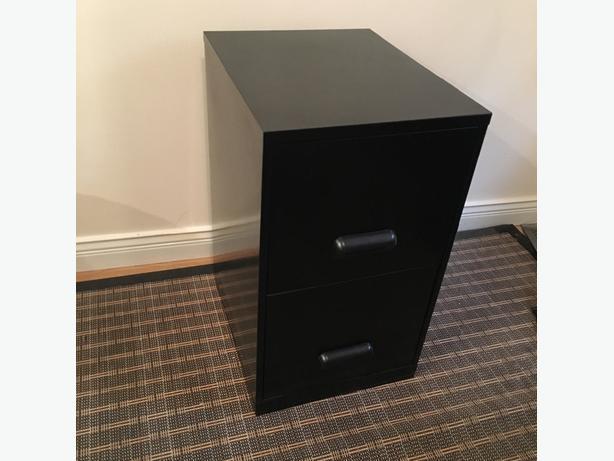 filing cabinet & desk