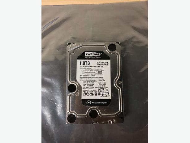 Western Digital 1TB 3.5 SATA 32MB Hard Drive
