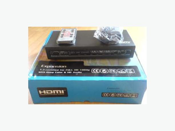 New HDMI True Matrix (4x2) Switch with Optical SPDIF & STEREO