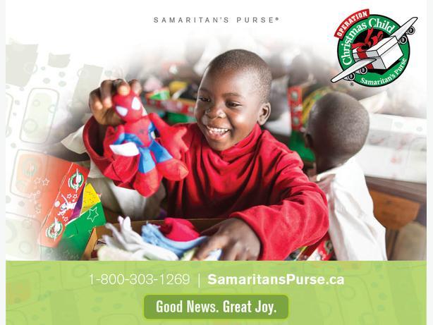 WANTED: OPERATION CHRISTMAS CHILD SHOEBOXES