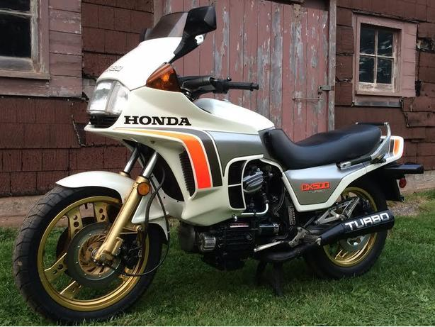HONDA 500 TURBO