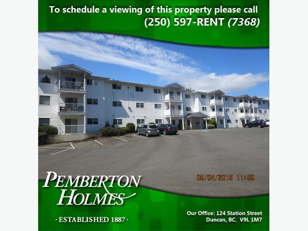 Main Level Apartment Close to Town in Duncan